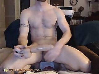 Asshole masturbation live on Queerscams.com jerking jerking off jerk off