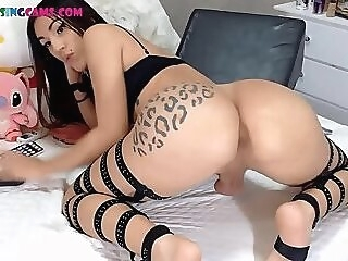 Sugar tranny's asshole live 4at on Cruisingcams.com ass ass hole butt