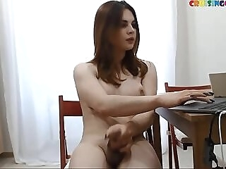 Hooney tranny likes public masturbation live on Cruisingcams.com jerking jerking off jerk off