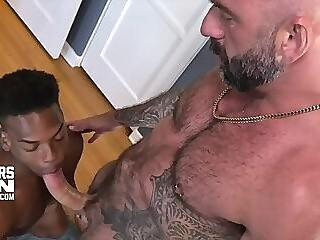 CUTLERSDEN: DREW SEBASTIAN & ADRIAN HART INTERRACIAL BB MONSTER COCK FUCK gay