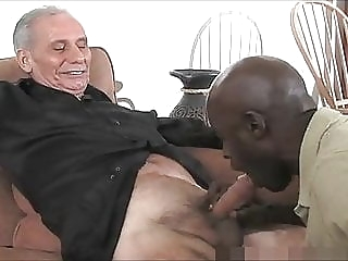 Mature Black Daddy And Three White Grandpa's, One Good Time bareback (gay) blowjob (gay) daddy (gay)