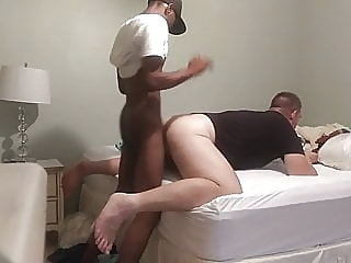 Deep dicked by anonymous BBC Grindr hookup. He rekt my guts! black (gay) bareback (gay) big cock (gay)