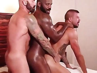 Dolf Dietrich, Drew Sebastian and Rod Beckmann (P&S P1) daddy (gay) group sex (gay) hunk (gay)