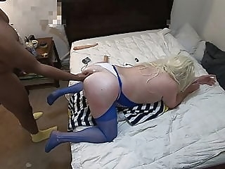 Thick Blonde Sissy Fucked & Fisted By Daddy Ken (BACCWILS09) black (gay) amateur (gay) big cock (gay)