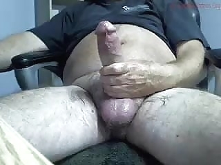 big dicked bear shoots his thick cum bear (gay) big cock (gay) daddy (gay)