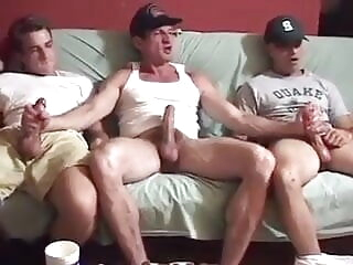 JG Sex Files #1 Jack off party at Billy Bob big cock blowjob vintage