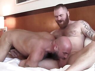Zack Acland and Jax Hammer (DFF) bear hunk muscle
