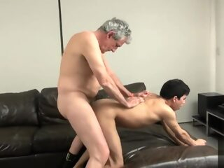 Old Grandpa pounds a twink then showers him with cum gay bear gay big cock gay daddy