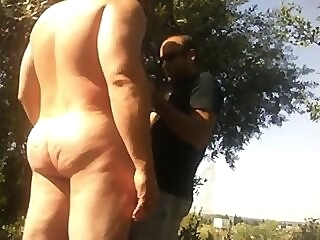 real Muscle man loves to be naked and sucked outdoor gay muscle naked gay