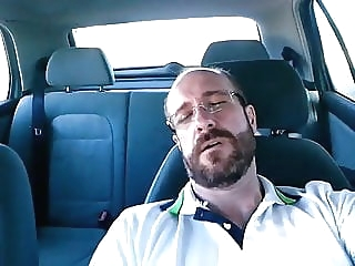 verbal dad jacking off in his car daddy (gay) masturbation (gay) outdoor (gay)