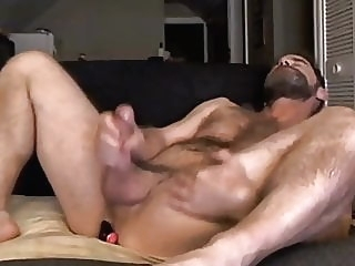 Daddy and sextoy bear (gay) big cock (gay) daddy (gay)