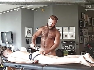 teddy bear massage big cock (gay) blowjob (gay) locker room (gay)